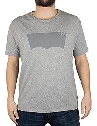Levi's Men's Line 8 Batwing New Graphic T-Shirt, Grey