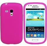 Nuova Custodia Cover in silicone per Samsung Galaxy S3 mini - Rosa