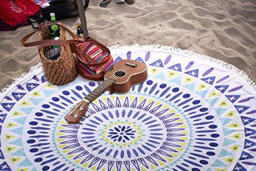 Toalla Playa, Leeron Tapiz Pared, Manta Playa Mandala