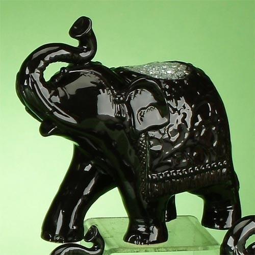 StealStreet ss-ug-vy-0217Walking de picado figura de elefante, color negro