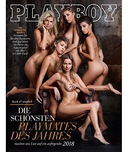 Playboy 01 / 2018 Die schönsten Playmates des Jahres!