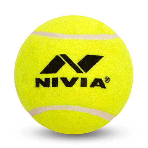 NIVIA TENNIS BALL H/W YELLOW (PACK OF THREE)Nivia Tennis Ball H/W Yellow (Pack of 3)  available at amazon for Rs.240