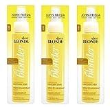 John Frieda spray schiarente Go Blonder Sheer Blonde (3 pezzi) 100ml ciascuno