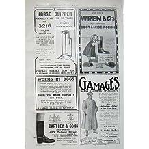 Tagliatore del Polacco di Modo di Lewin del Cane del Tabacco di 1908 Annunci