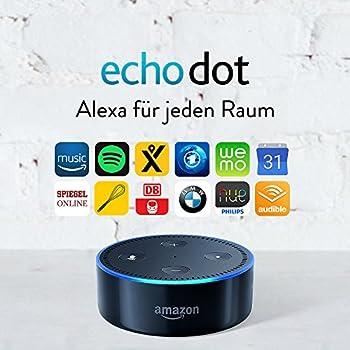 Amazon Echo Dot (2. Generation) Intelligenter Lautsprecher Mit Alexa, Schwarz 7