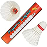[Sponsored]FL-10 Figaro Light Strong Feather Badminton Shuttlecocks (Pack Of Ten).