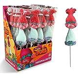Trolls Marshmallow Pop (Poppy y Guy Diamond) Espumas dulces - caja 16 unidades