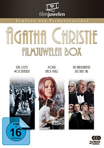 Bild von Agatha Christie Filmjuwelen Box - 3 Kino-Klassiker - [3 DVDs]