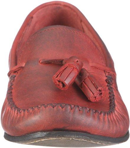 Hudson London Merlin 5103400 Herren Halbschuhe Rot/Red