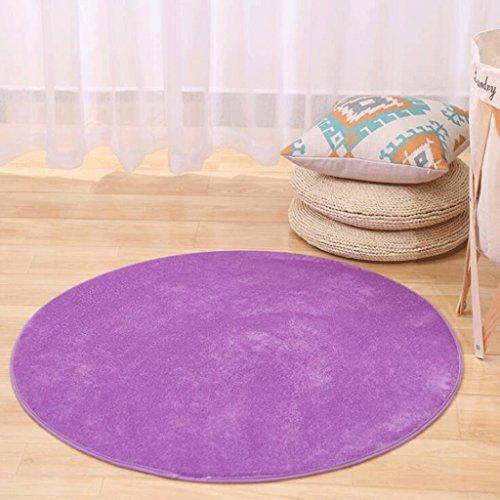 PRIDE S Salon de la salle de bain en couleur solide Tapis de table à la table ( Couleur : B , taille : 140cm )