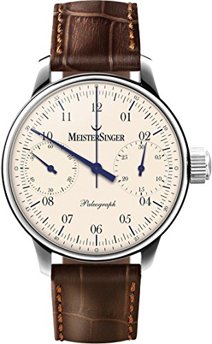 Meistersinger Paleograph Reloj de Hombre Manual 43mm Color marrón SC103