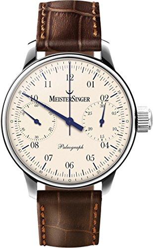 Meistersinger Paleograph Reloj de Hombre Manual 43mm Color marrón SC103