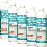 5 x HOTREGA Teppichreiniger-Konzentrat 1000ml Flasche