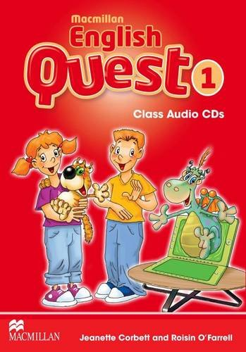 Macmillan English Quest Class Audio CD Level 1