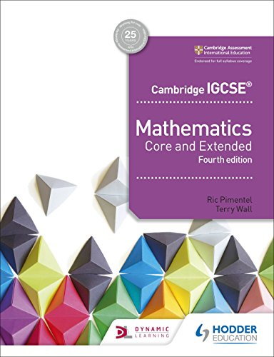 Cambridge IGCSE Mathematics Core and Extended 4th edition (English Edition)