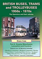 British Buses, Trams and Trolleybuses 1950s-1970s: Greater Manchester, Lancashire and Cumbria (Nostalgia Collection)