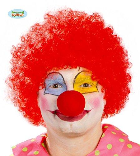 Rote Afro Perücke (rote Clown Locken Perücke für)