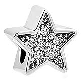 korliya Flaschenform Pentagramm Charm Bead für Armband