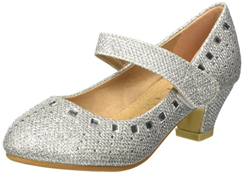 Jili- Shoes - Scarpe da Ginnastica Basse Bambina #705 Weiss- Riemchen