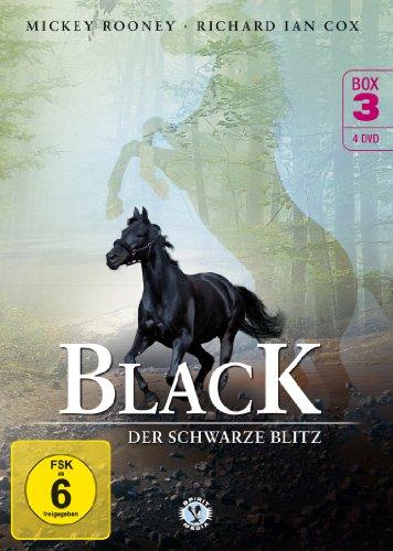 Black, der schwarze Blitz - Box 3 [4 DVDs]