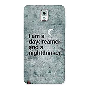 Impressive Knight Thinker Multicolor Back Case Cover for Galaxy Note 3