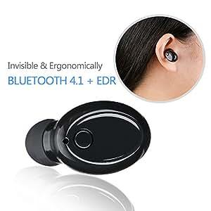 Auricolari Bluetooth, Archeer Wireless Bluetooth V4.1Cuffie invisibili Mini auricolari auricolare con microfono Supporto chiamate in vivavoce per iPhone Samsung Telefoni Android (1Confezione)