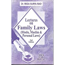 Lectures on Family Law in India