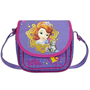 51uDpi973TL. SS300  - Disney Princesa - Princesita Sofía - Bolso - Bolsillo Bandolera