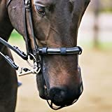 Equilibrium Relief Cob/Horse Muzzle Net - Black by Equilibrium Technologies