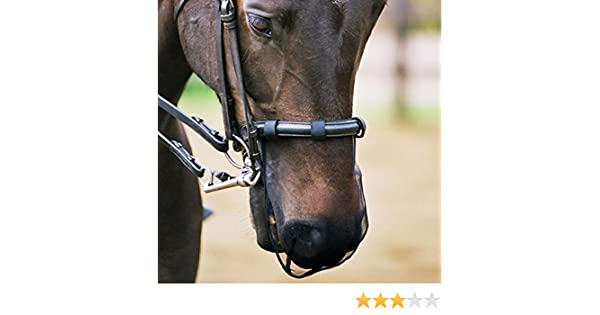 NETPROSHOP Horse Nose Protector Fly Nose Protector Size:Pony Help for Headshaking Fly Veil Fly Protection Net
