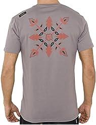 Tee Shirt MC Col Rond Sarnia Gris Moyen - Oxbow