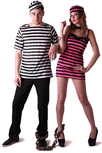 Costume coppia carcerati S