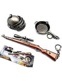 Costume Props Professional Sale Hot Game Playerunknowns Battlegrounds 3d Keychain 15 Style Pubg Keyring Saucepan Pendant Funny Kids Toy Gun Helmet Accessories