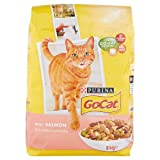 Go Cat Adult Complete Cat Food with Salmon and Added Vegetables, 2kg