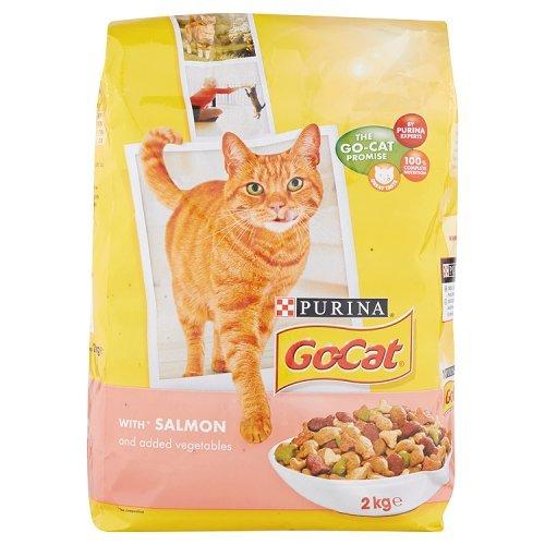 PET-773496 Go Cat Lachs & Gemüse (2 kg) Go Go Gemüse