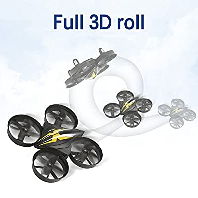 Jiayuane KK-2 Mini RC Quadcopter Drone for Kids with Headless Mode 3D Flips One Key Return Easy to Fly Quadcopter Drones for Beginners