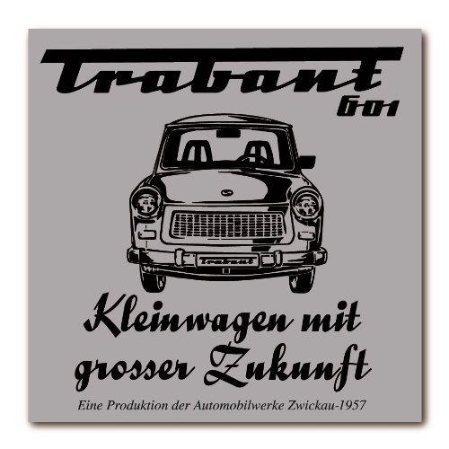 Magnet Schild Motiv: Trabant 601