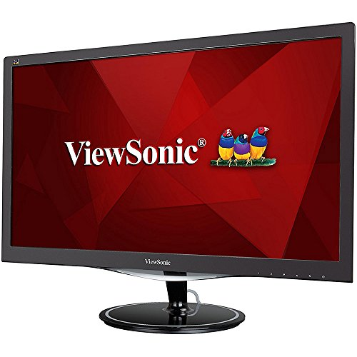 'ViewSonic vx2457-mhd Notebookdisplay LED TN 24 1920 x 1080 Pixel Full HD 1 MS schwarz (Viewsonic 24 Full-hd 1080p)