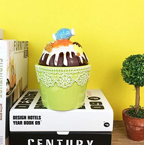 LOOKUR Einfache IKEA Kaffeebohnen Blume Tee Siegelgläser Gewürzgläser Restaurant Vorratsgläser Gewürzgläser Teekannen Tee Tee Zuckerdosen-B