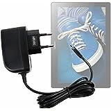 Cargador (2 Amperios) Para Tablet Lenovo Tab 2 A10-30 - Con Conexión Micro USB Y Enchufe Europeo De Pared - Certificado Por La CE - DURAGADGET
