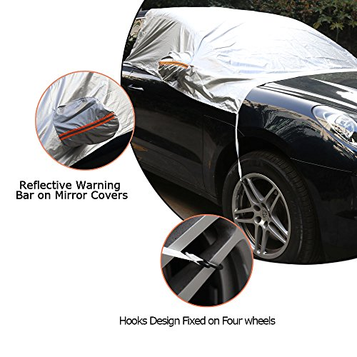 FiNeWaY New Heavy Duty Car Van Truck Tyre Grip Snow Mud Sand Rescue Escaper Traction Tracks Mats Set OF 2 60cm x 18cm x 1.25cm Size