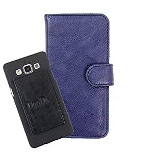 DooDa PU Leather Wallet Flip Case Cover With Card & ID Slots For Samsung Galaxy Y