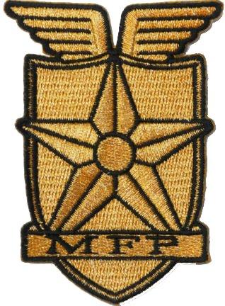 Max Kleidung Mad (Mad Max Main Force Patrol bestickt Badge Patch zum Aufnähen oder Aufbügeln auf 9cm x 7cm)