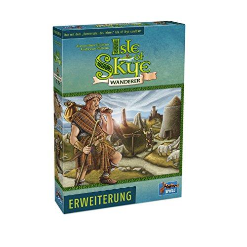 Lookout Games 22160092 – Isle of Skye – Wanderer (Erweiterung zum Kennerspiel des Jahres 2016) von Alexander Pfister und Andreas Pelikan