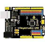 Keyestudio Uno R3 ATmega328P Entwicklungs-Board für Arduino + USB-Kabel
