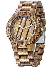 Material de madera del arce de la calidad del reloj reloj creativo del regalo del cumpleaños del estilo pastoral