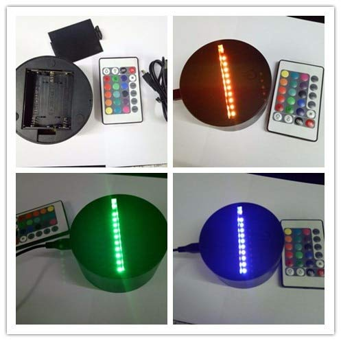 7 farben led 3d lampensockel für 3d illusion nachtlicht usb v fernbedienung und touch switch fabrik großhandel han-8110