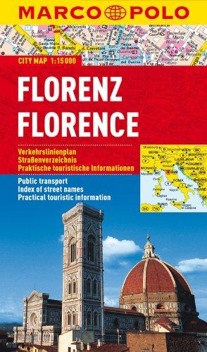 MARCO POLO Cityplan Florenz 1:15 000: Stadsplattegrond 1:15 000 (MARCO POLO Citypläne)