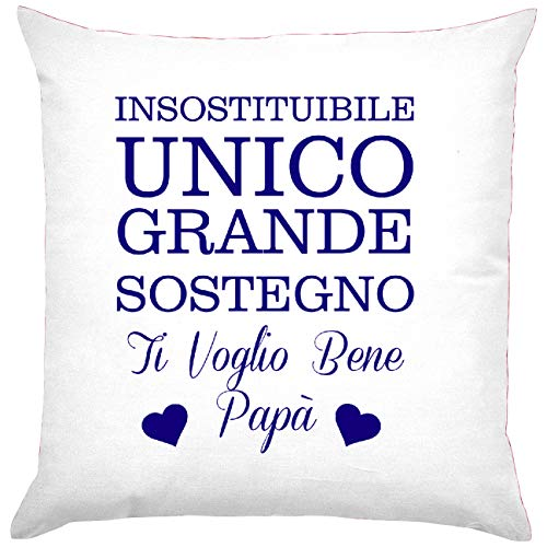 My custom style cuscino full print microfibra 40x40#festa del papà unico#