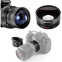 Neewer® Kit di Lente 58MM per Fotocamere Canon EOS DSLR